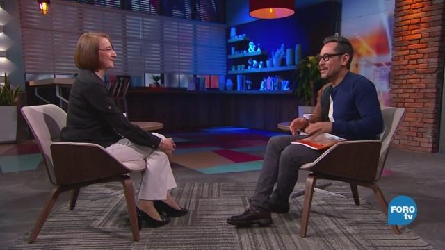 Genaro Lozano Entrevista Luz María Mora