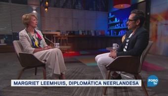 Genaro Lozano entrevista a Margriet Leemhuis