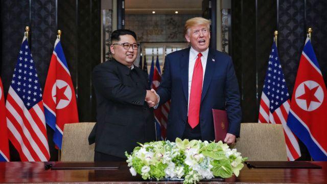 Corea del Norte se compromete a desnuclearizarse