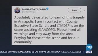Gobernador Maryland Población Evitar Zona Tiroteo