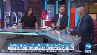Guillermo Sesma: Tercer debate presidencial no modificará tendencias