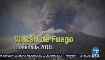 Historia de erupciones volcánicas en la