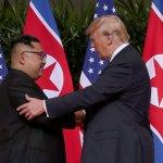 Trump Kim apretón manos histórica Cumbre Singapur