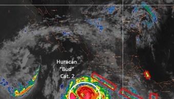 Huracán 'Bud' elevará oleaje en costas de Jalisco