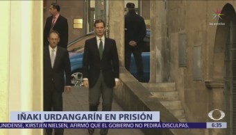 Iñaki Urdangarín ingresa a cárcel de mujeres en Ávila, España