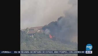 Incendio Forestal Las Copetonas Coahuila Arteaga