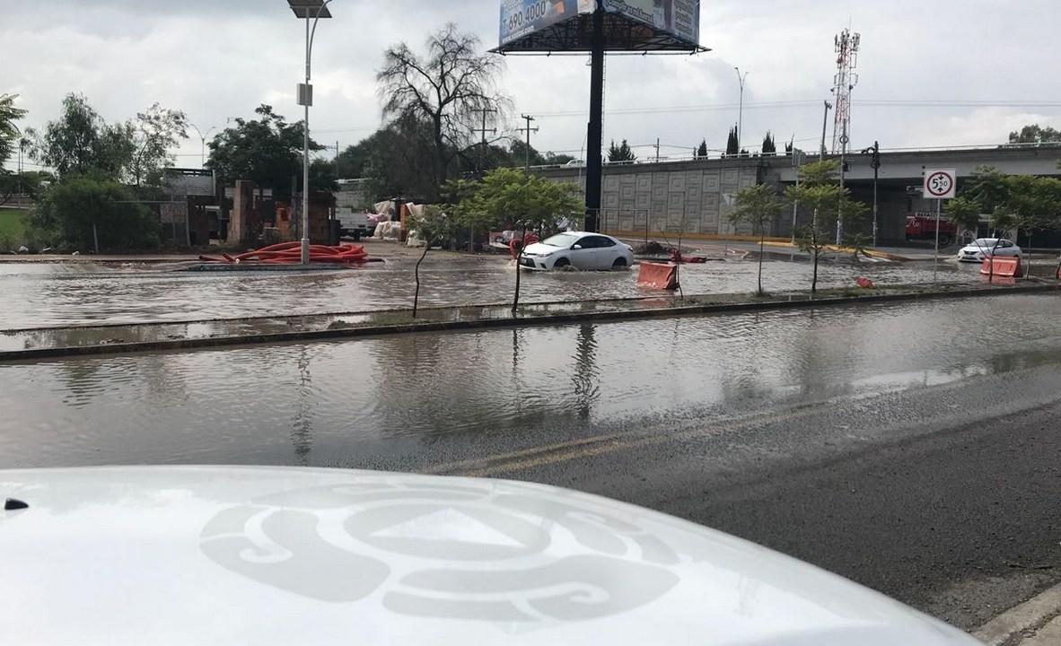 Ejército aplica plan DN-III tras inundación en Querétaro