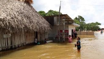 Emiten declaratoria emergencia municipios lluvias Q. Roo