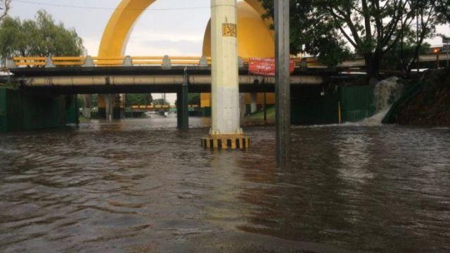 inundaciones provocan suspension servicio transporte publico guadalajara jalisco