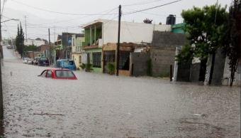 tormenta saltillo deja 43 viviendas-inundadas
