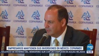 Inversiones de empresarios continuarán en México