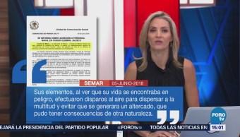 Investigan Agresión Contra Elementos Marina Jalisco