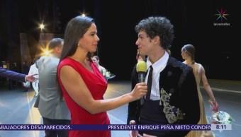 Isaac Hernández charla desde el Teatro Bolshoi de Moscú