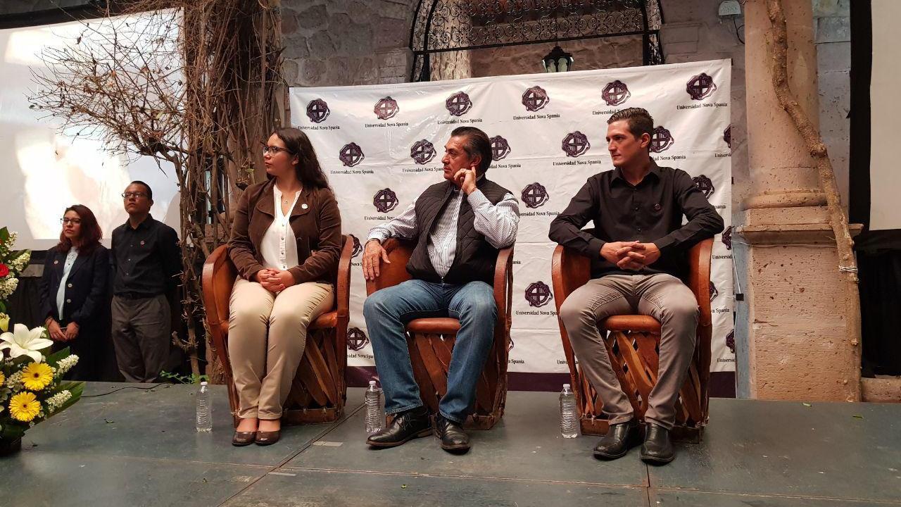 Jaime Rodríguez propone gastar en seguridad, no en debates