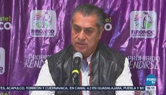 Jaime Rodríguez Critica Inseguridad Proceso Electoral