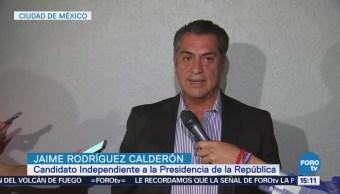 Jaime Rodríguez Dijo Acuerdo Segunda Vuelta Electoral