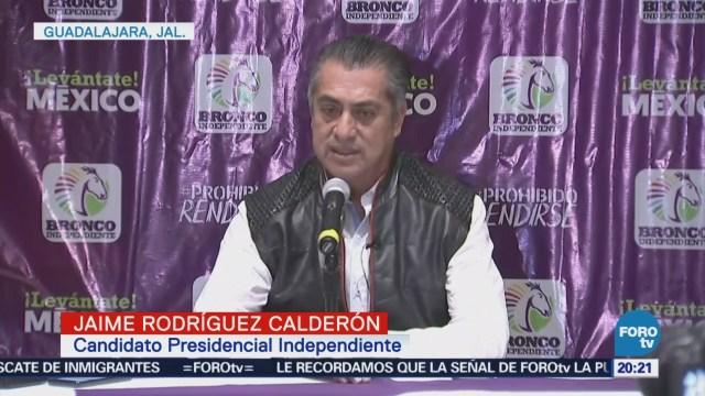 Jaime Rodríguez Bronco Condena Asesinatos Candidatos
