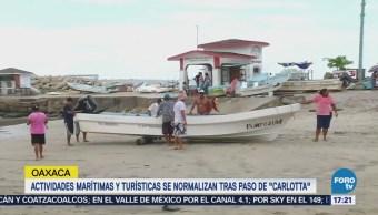 Oaxaca Normaliza Actividades Tras Paso Carlotta