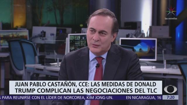 Juan Pablo Castañón en Despierta analiza