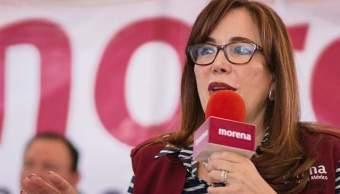 Morena analiza sanción para senadora electa en BC