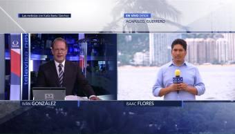 Reportan Caída Árboles Anuncios Acapulco Mal Clima