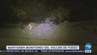 de nuevo deslave del Volcán de Fuego