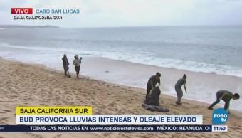 Levantan Alerta Roja Tras Paso Bud Baja California Sur