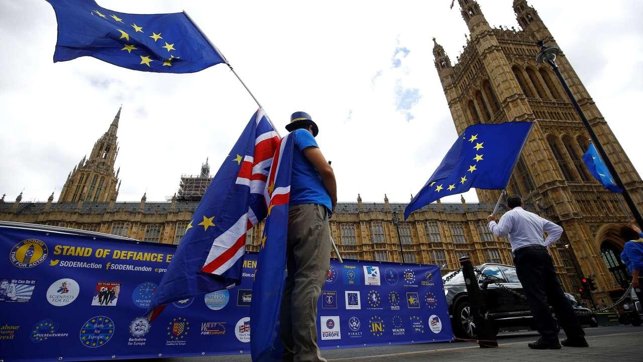 Ley del Brexit supera último trámite en el Parlamento británico