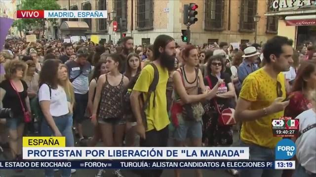 Liberación La Manada Genera Intensas Protestas España