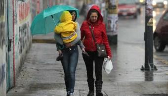 Cuatro fenómenos generarán lluvias República Mexicana