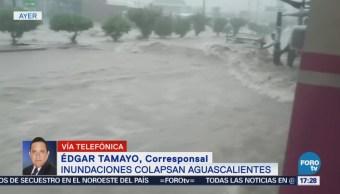 Lluvias afectan más de 100 viviendas en Guanajuato