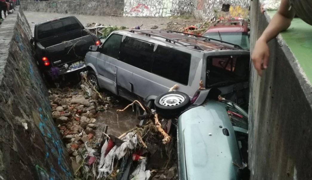 Tromba deja severas afectaciones en Zapopan, Jalisco