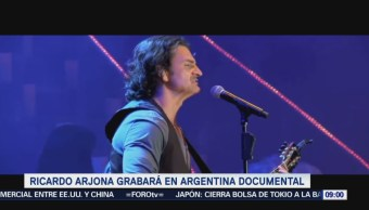 #LoEspectaculardeME: Arjona grabará disco en vivo durante concierto