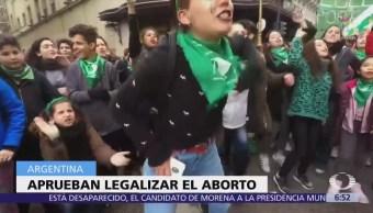Aprueban Diputados Argentina Legalización Aborto