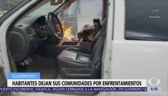Violencia Desplaza Habitantes 10 Comunidades Guerrero