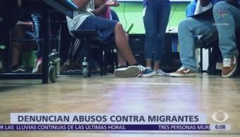 Niños Centroamericanos Fueron Golpeados Centro Detención Migratoria