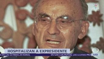Hospitalizan Expresidente Mexicano Luis Echeverría