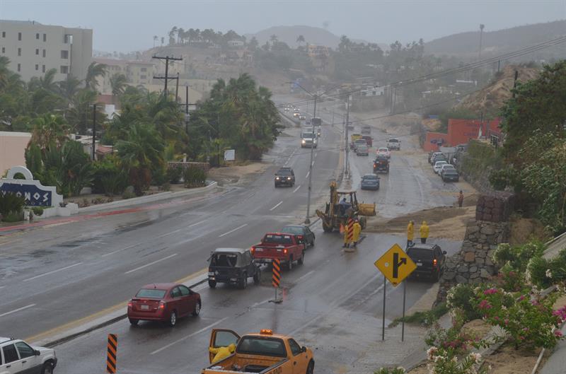 'Bud' provoca lluvias torrenciales en Baja California Sur