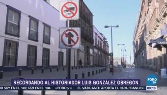 Luis González Obregón, el experto en historia y letras