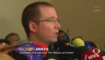 Ricardo Anaya Deslinda Expulsión Cordero PAN