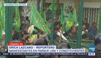 Manifestantes complican la validad en Constituyentes