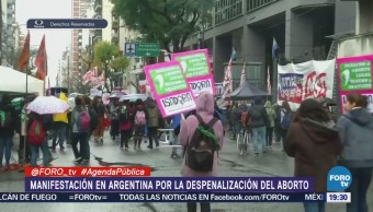 Marchas Despenalización Aborto Argentina Movimiento Aborto