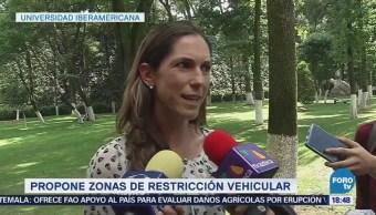 Mariana Boy Propone Zonas Restricción Automóviles