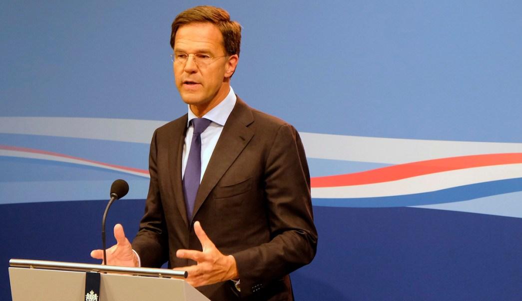 Mark Rutte Primer Ministro Político Trapea