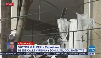 Reportan Tres Lesionados Por Explosión Colonia Nativitas Cdmx