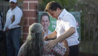 Mauricio Sahuí pide a electores comparar propuestas