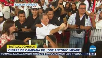 Meade Llega Cierre Campaña Saltillo Coahuila