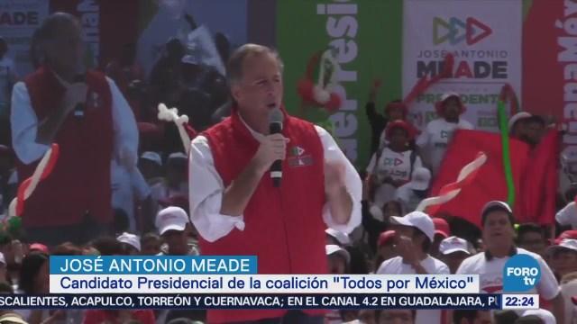 Meade Realiza Cierre Regional Campaña