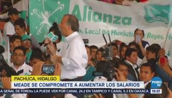 Meade Compromete Aumentar Salario Básico México