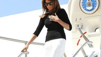 Melania Trump visita centro de inmigrantes en Arizona